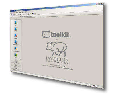 ADtoolkit Interface